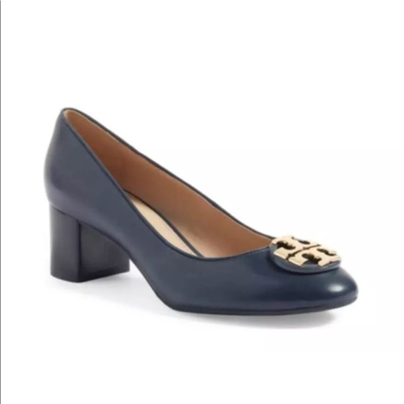 1ccd9863ee Tory Burch Shoes | Janey Black Leather Pump | Poshmark